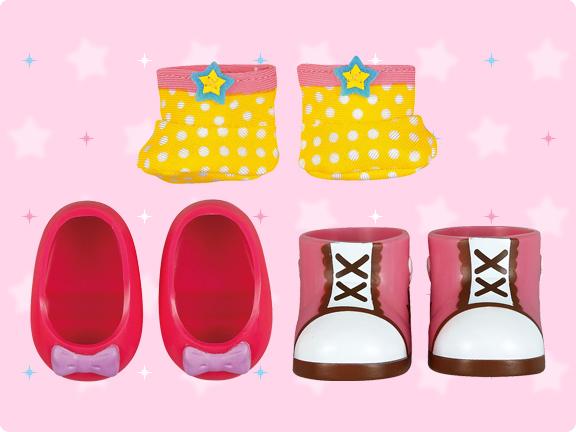Mell chan dress up kit - pretty shoes set