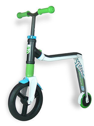 Scoot and ride highwayfreak scooter - white/green/blue