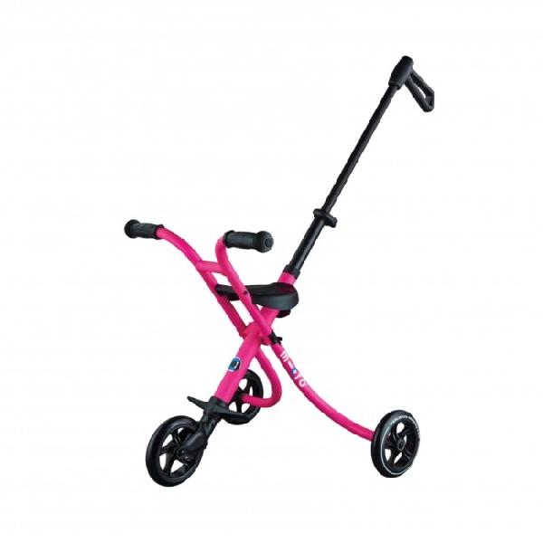 Micro trike deluxe pink (seatbelt)