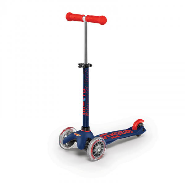 Mini micro deluxe scooter - navy blue