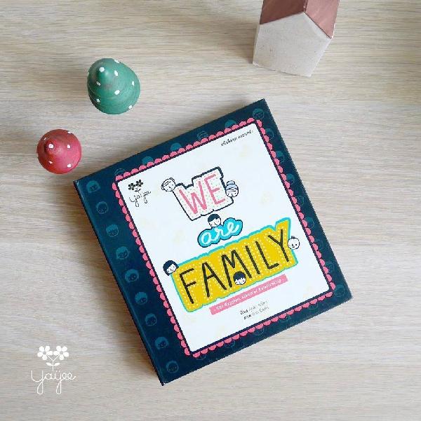 หนังสือ we are family
