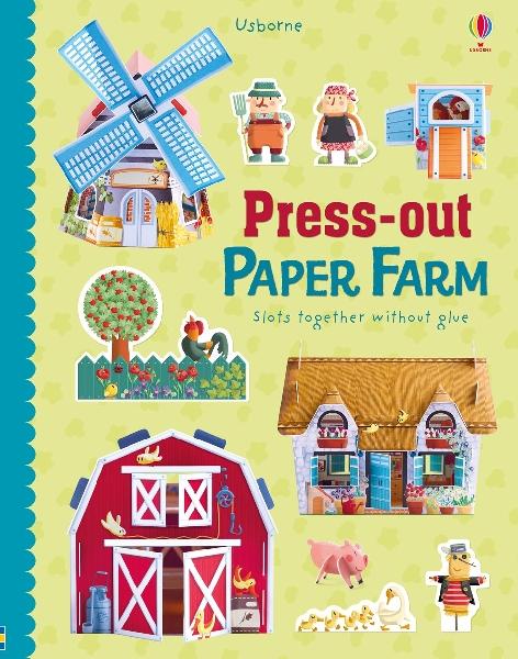 หนังสือพร้อมชิ้นส่วนสร้างฟาร์ม