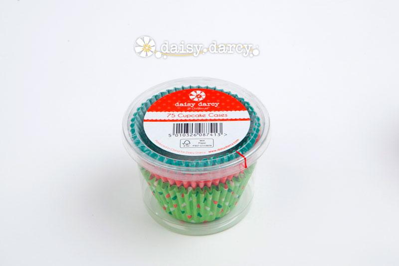 Jolly santa - 75 cupcake cases