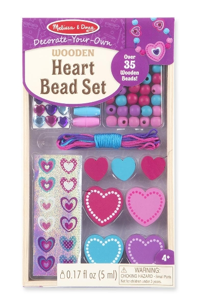 Heart bead set