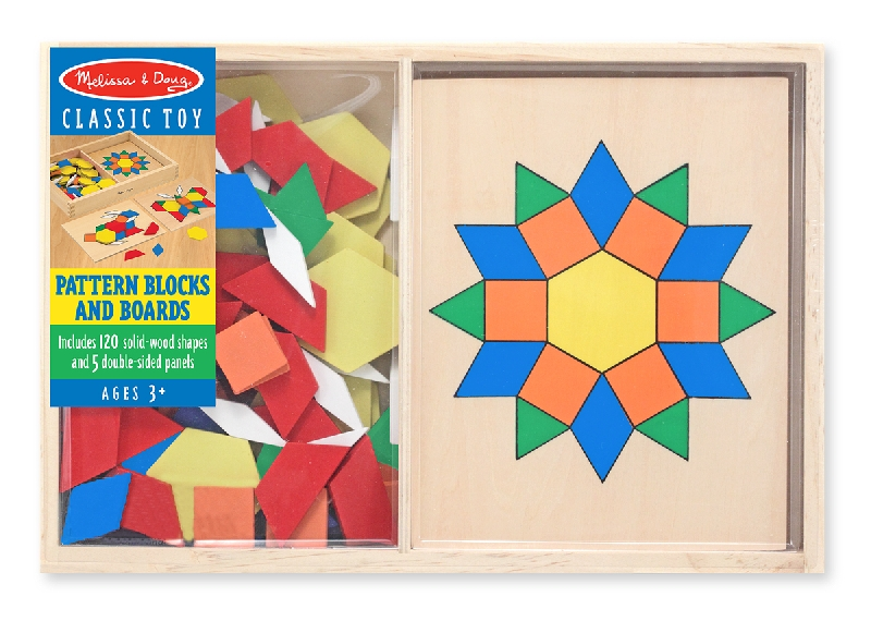 Pattern blocks & boards std