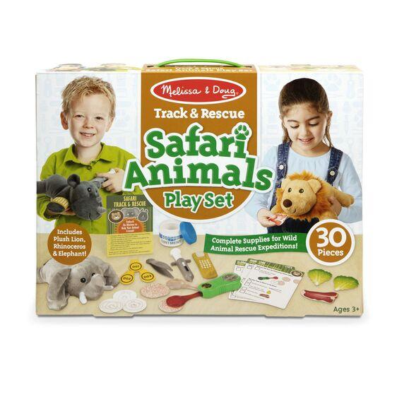 Safari animal playset