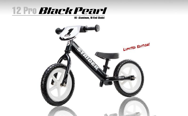 Strider 12 pro black pearl, limited edition