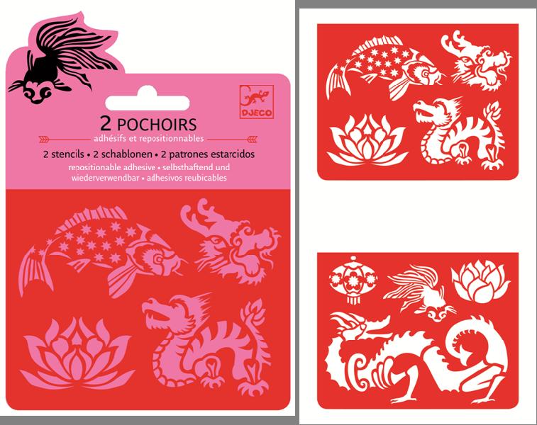 Mini stencils pack