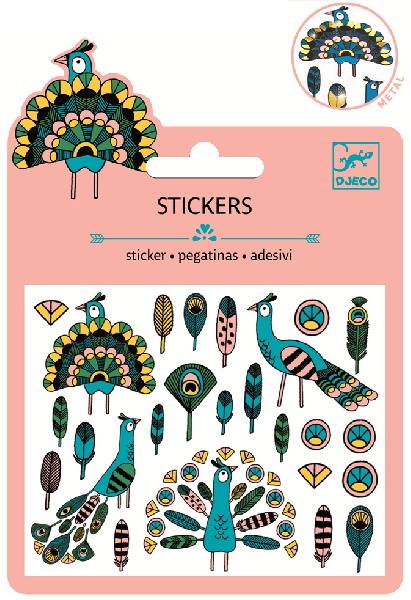 Mini stickers pack - metal