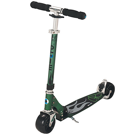 Micro rocket scooter - green