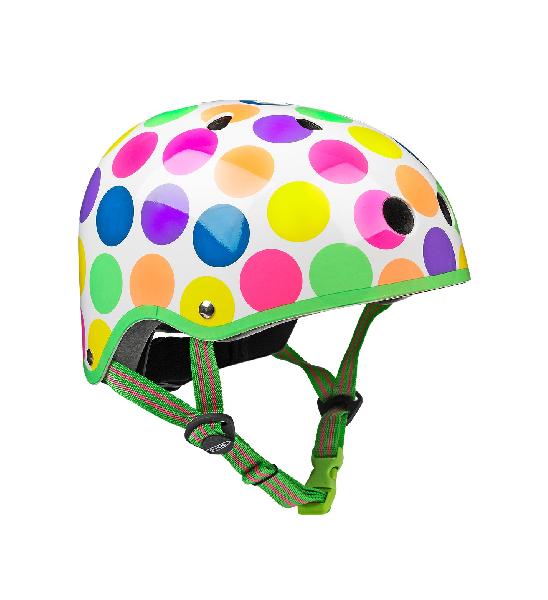 Micro helmet neon dot