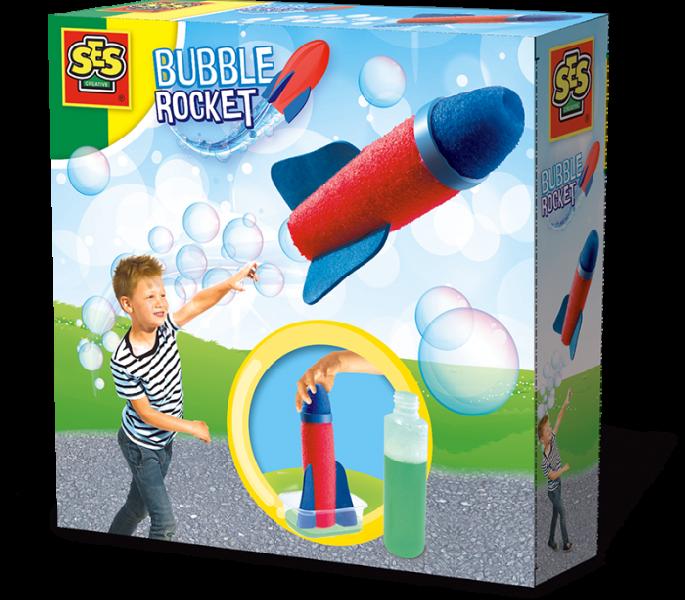 Ses - bubble rocket - a trail of bubbles