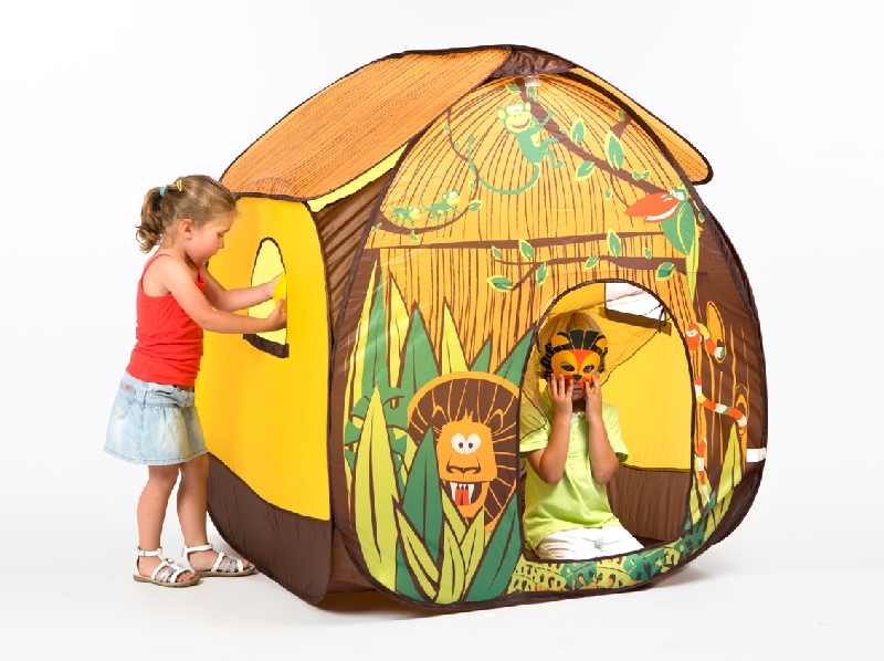 Jungle pop up house