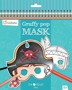 Graffy pop mask - boys