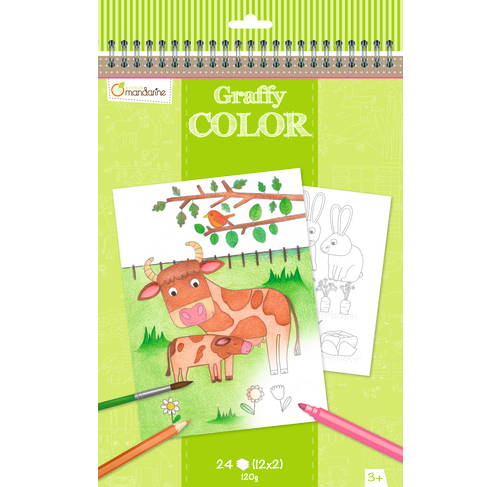Graffy coloring book