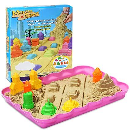 Mini city set motion sand