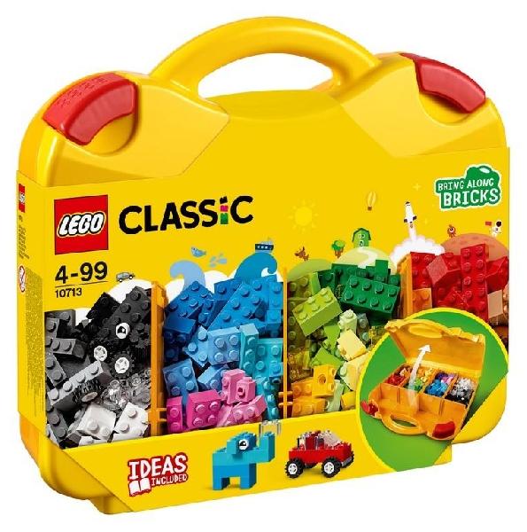 Lego classic 10713 : creative suitcase