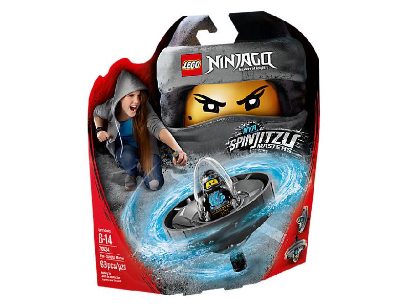 Lego ninjago 70634: nya - spinjitzu master