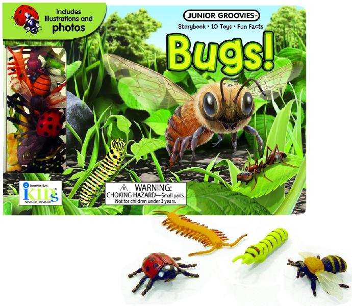 หนังสือพร้อมของเล่นประกอบการเรียนรู้ หัวข้อ แมลง