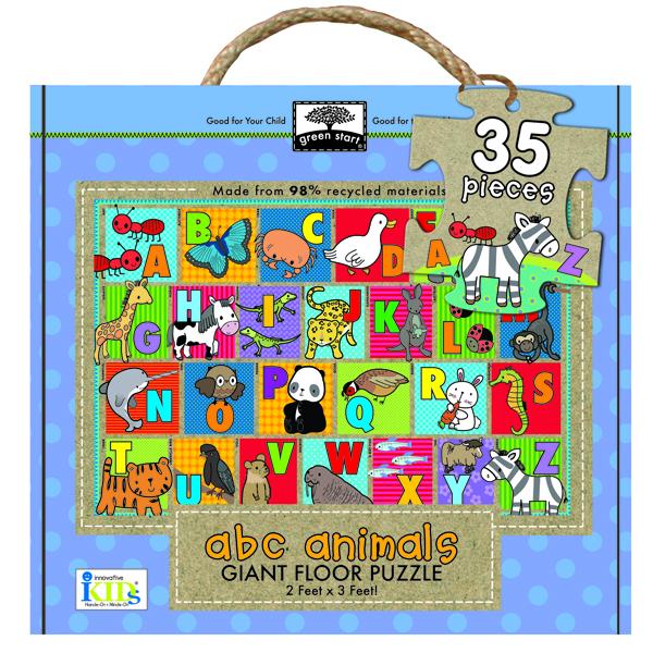 Giant floor puzzle : abc animals