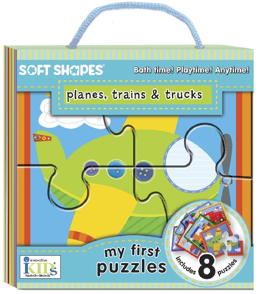 Soft shapes - planes, trains & trucks