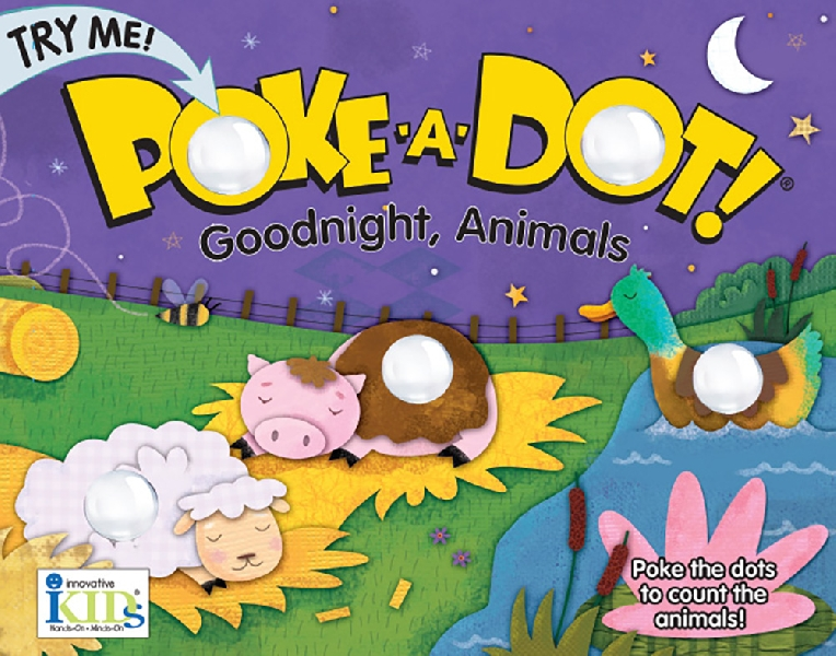 Poke a dot - good night, animal