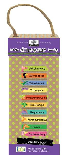 Book tower - little dinosaurs