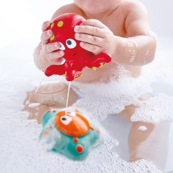 ของเล่นในน้ำ (ปลาหมึกน้อยและปลาดาว)