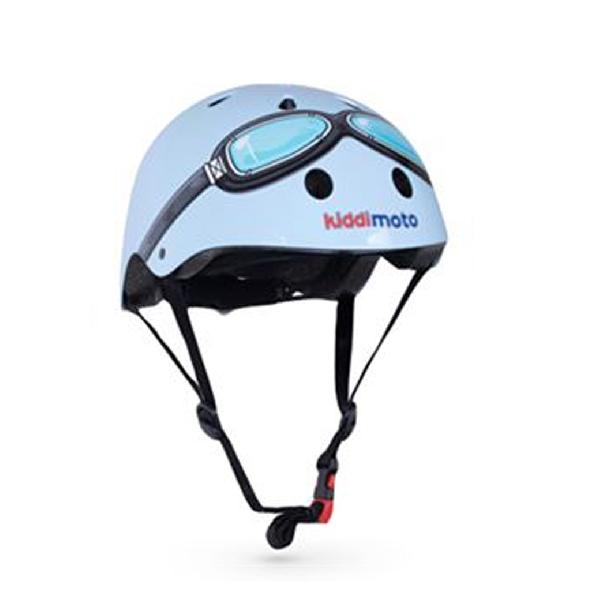 หมวกกันน็อค ลาย blue goggle