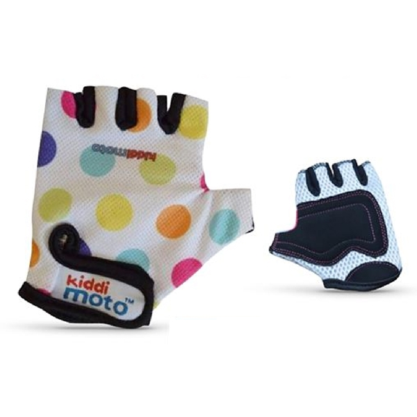 Glove pastle dotty