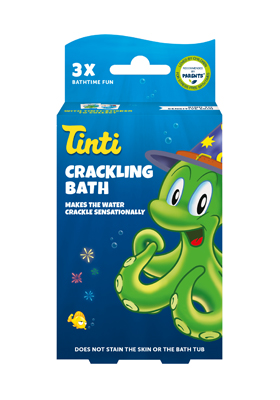 Crackling bath