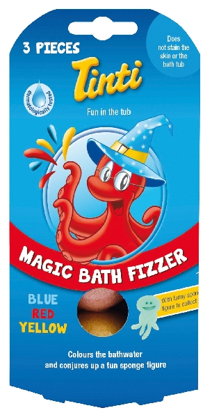 Magic bath fizzer pack3