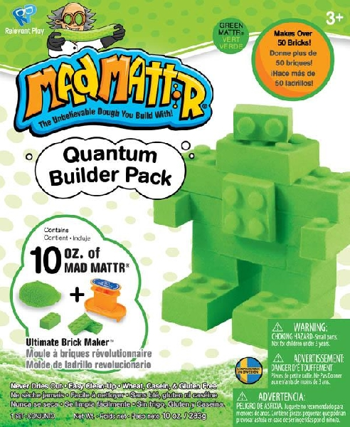 Mad mattr quantum builder pack green