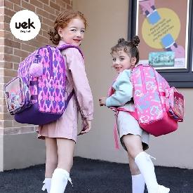 Shell kids school backpack - rabbit purple