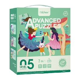 Puzzles level 5 magic world