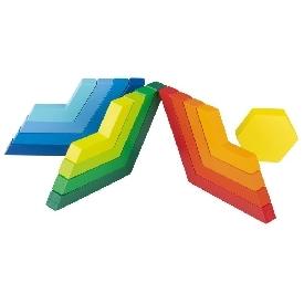 rainbow interlocking game