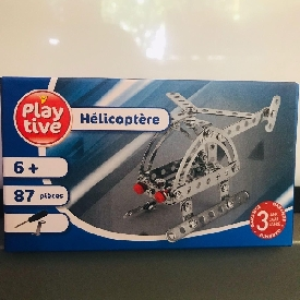 Play tive helicopter 87 pieces