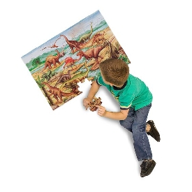 Floor puzzle dinosaurs 48 pc