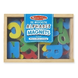 Alphabet magnets set