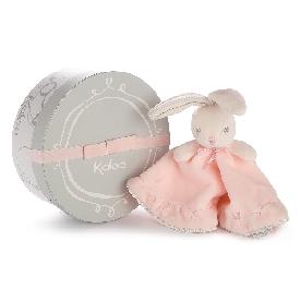 Kaloo perle - round doudou rabbit pink