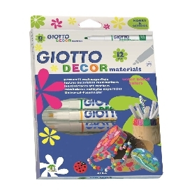 Giotto Decor Materials 12 colours