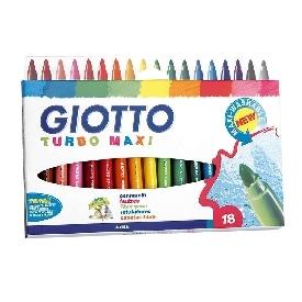 Giotto turbo maxi 18 colours