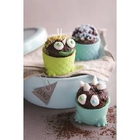 Silicone Cupcake Dinosaur Parade