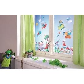 Window stickers dragon knights