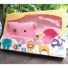 Baby Feeding Gift Set - Pink (Pokey The Pig)