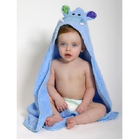 Baby Hooded Towels - Henry the hippo