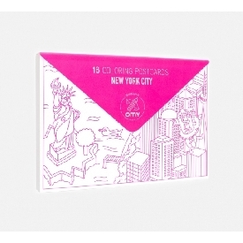Pack Of 16 Postcards - New York