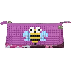 Upixel pencil case(purple+green)