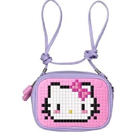 Upixel sweet love clutch bag lilac-pink