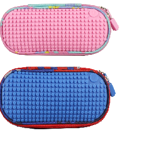 Upixel super class pencil case(pink+blue)